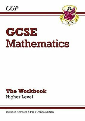 GCSE Maths Workbook (with Answers and Online Edition) - Higher By CGP Books