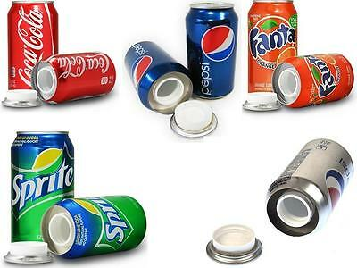 Weighted Stash Cans Hidden Compartment Safe Hide Jewellery Money Valuables New