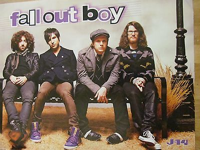 Fall Out Boy, Jesse McCartney, Double Full Page Pinup