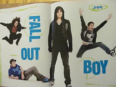Fall Out Boy, Two Page Centerfold Poster
