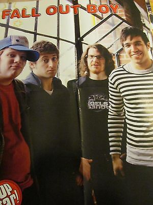 Fall Out Boy, High School Musical, Zac Efron, Double Four Page Foldout Poster