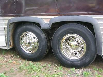 NEW Stainless Steel Bus / Truck Wheel Covers Hub Caps Set