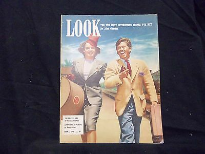 1940 May 7 Look Magazine - Judy Garland And Mickey Rooney - St 1454