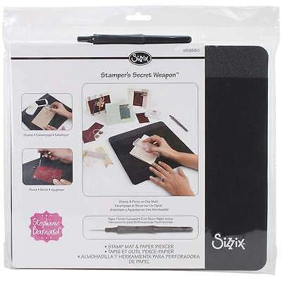 Sizzix Stampers Secret Weapon-12 Inch X 10.5 Inch X.5 Inch Mat & P 841182087508