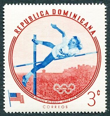 DOMINICAN REPUBLIC 1960 3c SG815 mint MH FG Olympic Games Melbourne #W8