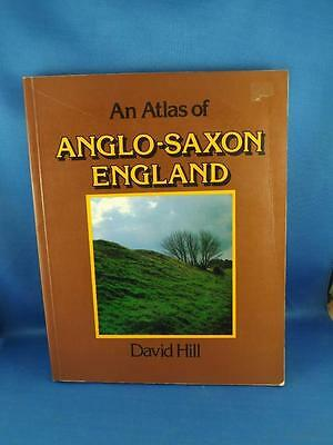 An Atlas Of Anglo-Saxon England Book David Hill 1981 Maps History British Isles