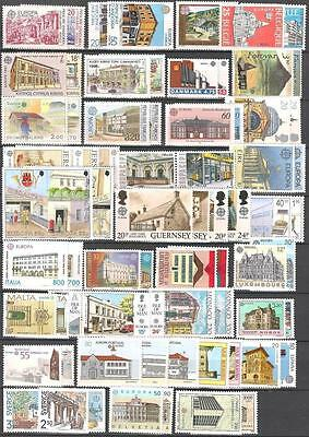 Cept Europa 1990 ** Annata Completa MNH beautiful and complete collection 142,00