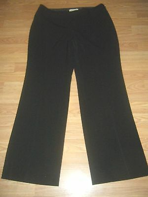 NWT WHITE HOUSE BLACK MARKET STRETCH FLARE BLACK DRESS PANTS Size 12R
