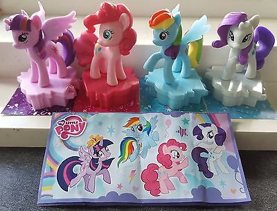 Maxi My little Pony 2016, complete set with all Bpz.