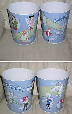 Futurama Trash Can with Bender, Fry, Dr. Zoidberg etc.1 trash Can oer purchase
