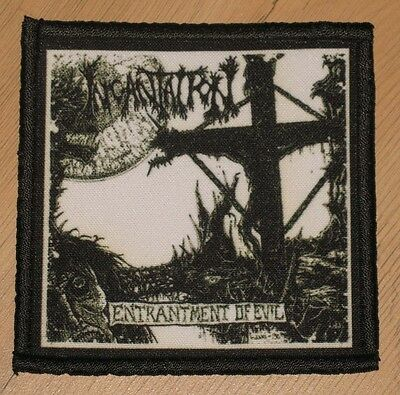 "INCANTATION ""ENTRANTMENT OF EVIL"" silk screen PATCH"