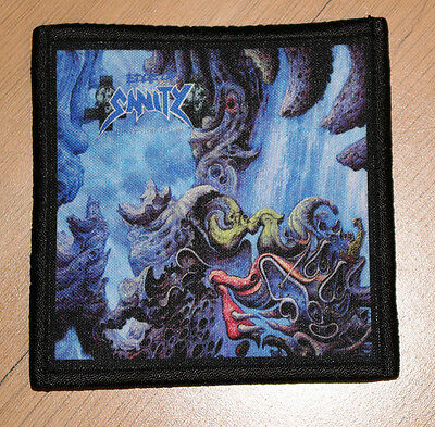 """EDGE OF SANITY """"THE SPECTRAL SORROWS"""" silk screen PATCH"""