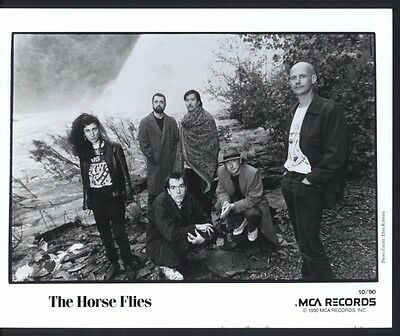 1990 The Horse Flies Mca Records Publicity Press Photo