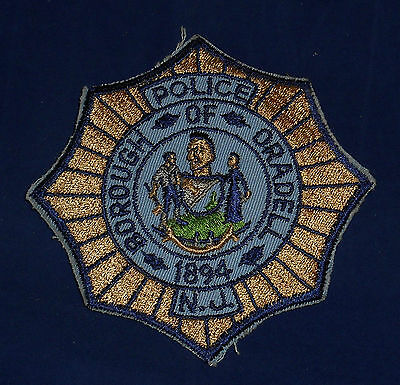 Borough of Oradell, New Jersey Police Shoulder Patch (invp1760)