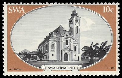 SOUTH-WEST AFRICA 420 (SG320) - Swakopmund Lutheran Church (pa83332)