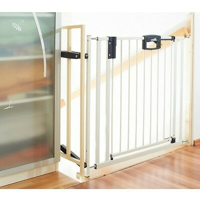 Geuther 4793 Easy Lock metal stair protection Adjustment range 84,5 - 92,5 cm