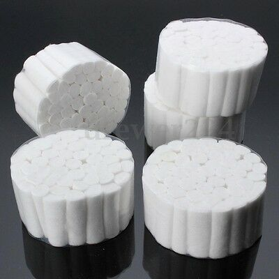 Dynarex 2000 pcs Dental COTTON ROLLS #2 MEDIUM Full Case US SELLER FREE SHIPPING