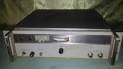 Hewlett Packard 491C Microwave Amplifier 2.0-4.0 Gc 115/230 Volts 50 60 Cycles