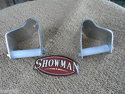 """3"""" Showman Aluminum Stirrups Correctors (sold in pairs) FREE SHIPPING IN  USA"""