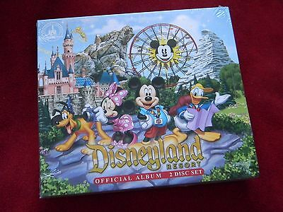 Disneyland Resort Official 2-disc Album CD Set Disney Park Music 36 Songs NEW