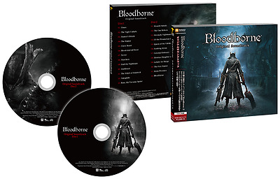 PS4 Bloodborne Original Soundtrack Japan 2 CD OST NEW