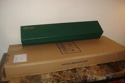 """Green GIFT BOX 50 Ct CASE 30x6x4"""" Floral Flower Florist Long Stem Rose Boxes New"""