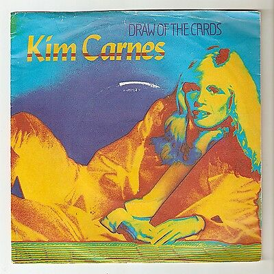 Kim Carnes - Draw of the cards Bw Break the rules tonight 1981 A1/B1