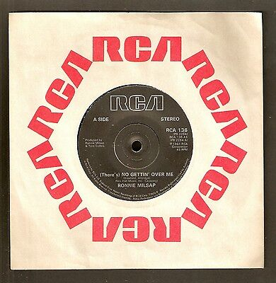 """Ronnie Milsap- (There's) No gettin' over me 7"""" vinyl 1981 A1/B1"""