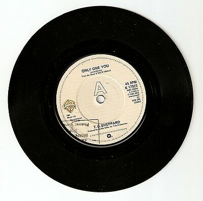 """T G Sheppard - Only one you Bw We belong in love tonight 7"""" vinyl 1982 A1/B1"""