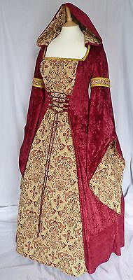 Medieval Wedding Dress Renaissance Pagan Gown Renassiance Custom Made To Size