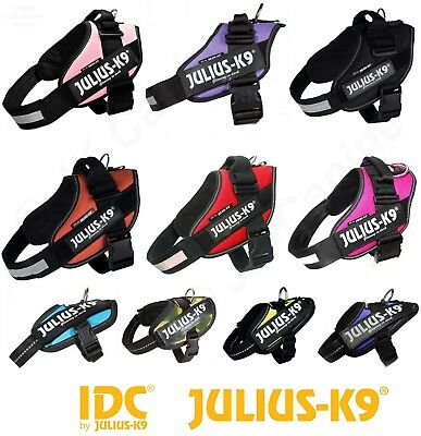 Julius K9 Idc® Power Harness Strong, Adjustable & Reflective Dog Puppy Harnesses