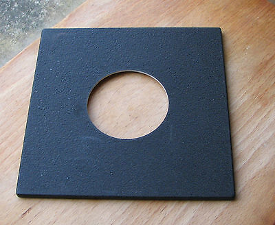 genuine Sinar F & P  lens board panel with   56.2mm hole