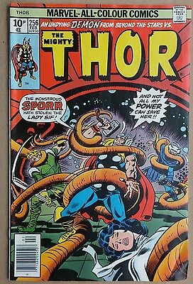 Marvel Comics: The Mighty Thor # 256 February 1977. Very good condition.