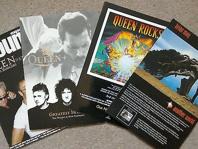 Queen Instore Promotional Items x4