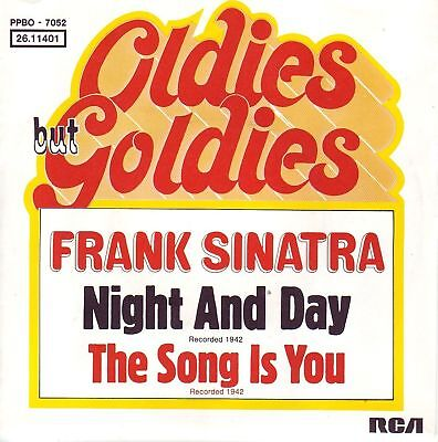 """7"" - FRANK SINATRA - Night and day"