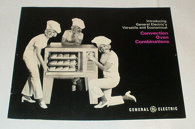 VINTAGE GE General Electric BROCHURE CONVECTION OVEN COMBINATIONS