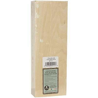 Basswood Carving Block-1.75 Inch X 3.5 Inch X 10 Inch 046308041116
