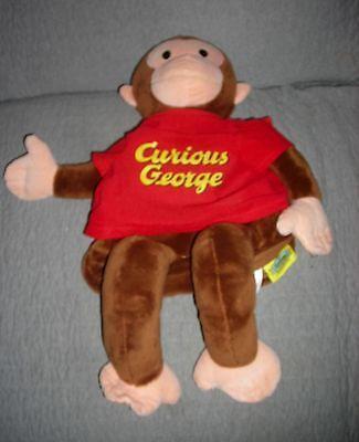 Curious George  Zoobies   Pj Storage  Zippered Compartment  21 Inch   Smoke Free