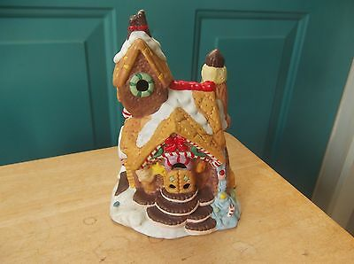 Porcelain or Ceramic Gingerbread House