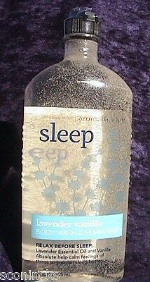 Bath & Body Works Douchegel Lavender Vanilla Aroma Sleep Shower Gel 295 ml