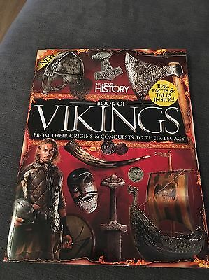 All About History Magazine Book Of Vikings New