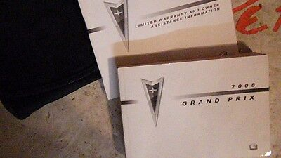 2008 pontiac grand prix owners manual and case 28 77 picclick rh picclick com 2008 pontiac grand prix repair manual 2007 pontiac grand prix owners manual online