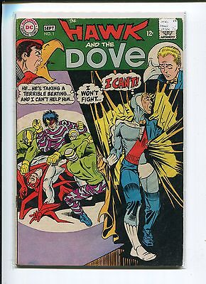 HAWK and the DOVE 1 VG-FN  DITKO  C/A 1968