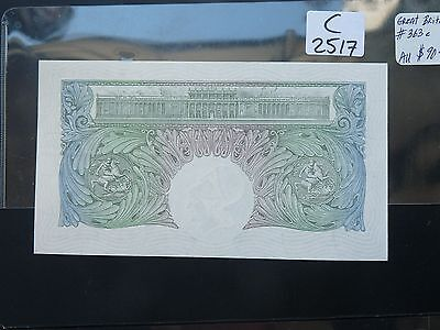 VINTAGE BANKNOTE  Great Britain/England 1955   1 POUND VALUE 90.00    C2517