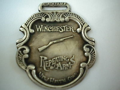 Watch Fob Winchester silver plate