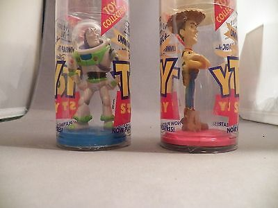 Minute Maid Toy Story Woody and Buzz Lightyear Promo 1995 Figures