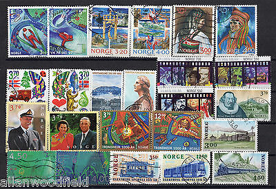 Nice Selection Of  Norway   Used    (1607065)