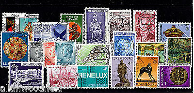 Nice Selection Of Luxembourg    Used   (1606011)