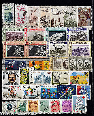 Nice Selection Of Poland   Used   (1607109)