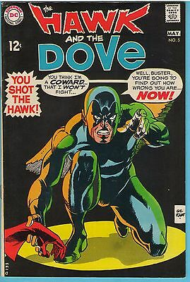 Hawk and the Dove 5 May 1969 FI-VF (7.0)